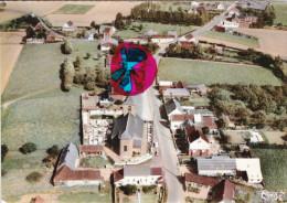 DERGNEAU - Le Centre - Vue Aérienne - Carte Colorée - Frasnes-lez-Anvaing