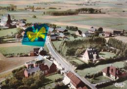 DERGNEAU - Vue Aérienne - Carte Colorée - Frasnes-lez-Anvaing
