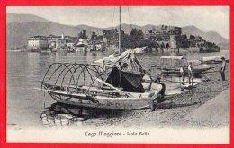 [DC6154] LAGO MAGGIORE - ISOLA BELLA - Old Postcard - Verbania