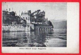 [DC6155] LAGO MAGGIORE - ISOLA BELLA - Old Postcard - Verbania