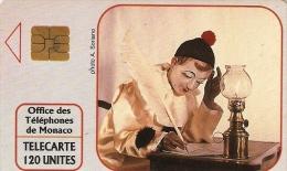*MONACO* - Scheda Telefonica Usata - Monaco