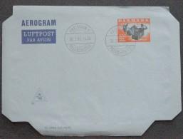 Denmark AEROGRAM Nr.50   30-3-1983 ( Lot 2486 ) - Enteros Postales