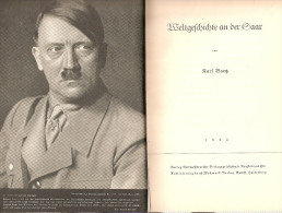 LIVRE PROPAGANDE ALLEMAGNE SAAR REICH 1935 NSDAP PARTI GAULEITER BURCKEL