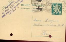 Briefkaart Carte Lettre - G. Van Goethem - Uccle - Entiers Postaux