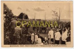 A173 - WWI - Beerdigung Eines Abgeschossenen Französischen Fliegerleutnants ... - Militares