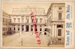 ITALIE- ITALIA- GENOVA  - PHOTO  PAPIER ALBUMINE SUR CARTON EPAIS- ALFREDO NOACK -VICO DEL FILO N°1 - Antiche (ante 1900)