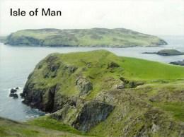 1 AK Isle Of Man * Ansicht Der Insel Calf Of Man - Diese Ist Durch Den Calf Sound Von Der Isle Of Man Getrennt - Isola Di Man (dell'uomo)