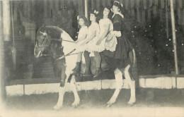 CIRQUE - NUMERO ECUYERE - CHEVAL - DRESSAGE - Circus