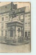 LIEGE  - Fontaine Saint Jean-Baptiste. - Liege