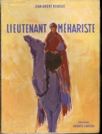 J-A  RENOUX - LIEUTENANT MEHARISTE  - FRANCE-EMPIRE - 1961 - Storia