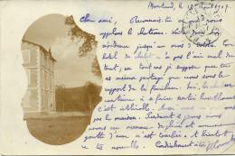 CARTE-PHOTO 83 BARJOLS ?? MONTAUD JOLI DEMEURE  TRES RARE Voir Verso - Unclassified