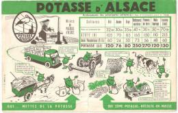 BUVARD POTASSE D'ALSACE - Agriculture