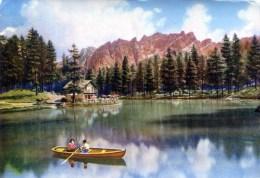 Lago Ghedina. Cortina - Italia