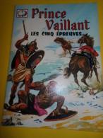 Album Illustré/Enfants/Prince Vaillant / Les 5 épreuves/Opéra Mundi//1964   BD38 - Books, Magazines, Comics