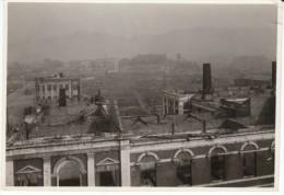 Kobe Japan, Panoramic View Of Destruction Damage, WWII(?), C1940s Vintage Photograph - Places