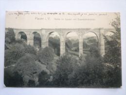 PLAUEN  I. V.  :  Partie Im Syratal Mit  Eisenbahnbrücke   1909 - Plauen