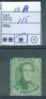 N° 13  A   X - 1863 - 1863-1864 Medallions (13/16)