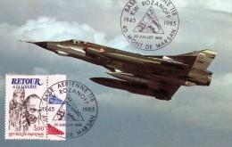 MONT DE MARSAN  LANDES BASE AÉRIENNE 118 K W ROZANOFF 1945/1985  MIRAGE III E - Autres