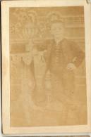 PAPPE FOTO CABINET FOTO DIMENSIONEN  6.5x10.5cm PORTRÄT KINDER BUB - Identifizierten Personen