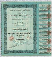Sté Des Eaux Minérales De Charbonnieres Les Bains - Eau
