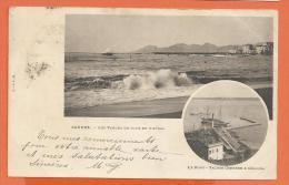 MOL2/405, Cannes, Le Port, Précurseur, Circulée 1900 - Cannes