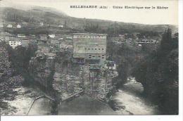 BELLEGARDE  - USINE ELECTRIQUE SUR LE RHONE - Bellegarde-sur-Valserine