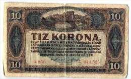 Zehn Kronen, Zece Coroane 1920 - Oesterreich