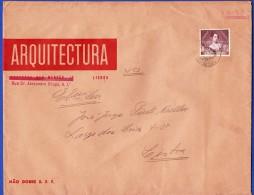 ENVELOPPE  ARQUITECTURA . RUA DR. ALEXANDRE BRAGA, 8, 1º LISBOA - 1910-... República