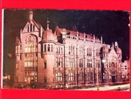 COLOMBIA  - Cartolina Viaggiata Nel 1970 - Medellin - Palazzo Del Governo - Notturno - Colombia