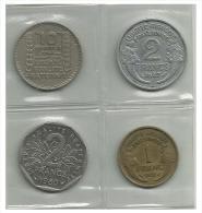 FRANCE - 4 Coins - Used - Monedas & Billetes