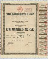 Grande Brasserie Coopérative Du Hainault, Union Des Consommateurs à Hérin, Nord, Sts à Valenciennes - Tourisme