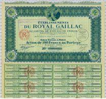 Ets Royal Gaillac, Illustration Henri IV De Profil - Tourisme