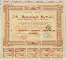 Sa Du Café Restaurant Berthoux, Sts à St Alban De Roche, Ss à Lyon - Tourisme