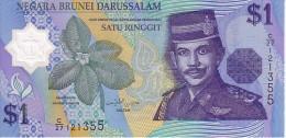 BRUNEI  1 Ringgit  Emission De 1996  Pick 22 A  Polymer         ***** BILLET  NEUF ***** - Brunei