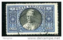 VATICAN 1933  Médaillon De Pie XI  1,25 L.   Sass 29  Mi Nr 31 - Vatican