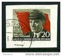 DDR - 1956  E. Thalmann Imperf.  Mi Nr 520B  Used - Gebraucht