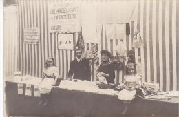 23033 Paris France Carte Photo Concours Lepine -1908 - Fixe Serviette En Eventail -enfant - Expositions