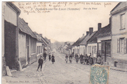 23043 Domart Sur La Luce. Rue Du Pont. 3 Hacquart Amiens - Enfant - France