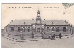 23044 DOMART Sur LUCE ( 80 ) La Mairie - Les écoles - Ed 1 Hacquart - Non Classés