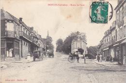 23047 DOZULE  Route De Putot -ed Fillion - Attelage Boucherie - France
