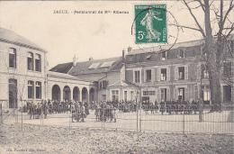 23050 Dreux  Pensionnat De Mlle Riberou édit.foucault ,enfant Ecole - France