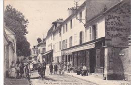 23051 EAUBONNE Rue D'Ermont - Restaurant Pfeuty -27C ND -biere Jolivet Attelage Café - Eaubonne
