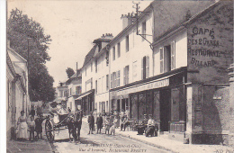 23051 EAUBONNE Rue D'Ermont - Restaurant Pfeuty -27C ND -biere Jolivet Attelage Café
