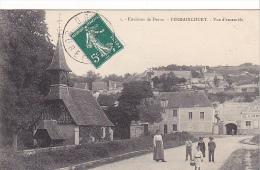 23056 Fermaincourt Vue D´ensemble -1 Foucault - Eglise, Café Hummel - France