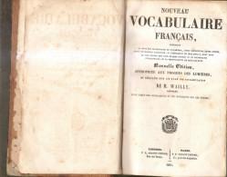 Vocabulaire Français-dictionnaire-1861 - Dictionaries