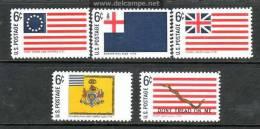 U.S. 1345-54   **  HISTORICAL AMERICAN  FLAGS - Unused Stamps