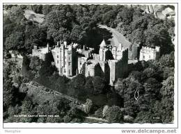 DUNSTER CASTLE From The Air Real Photo  Aerofilms & Aero Pictorials No R17530 - England