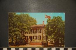 Abraham Lincoln's Home, SPRINGFIELD, Illinois, - Springfield – Illinois
