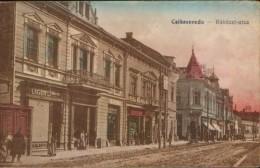 Romania- Postcard Unused Cca. 1915 -Miercurea Ciuc(Csikszereda) - Rakoczi Street - 2/scans - Rumänien