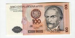 100 SOLES  NEUF 3 - Peru